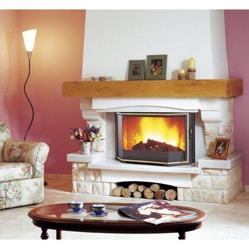 Fleurbaix (Флербе) - Модель каминной облицовки из колотого мрамора
