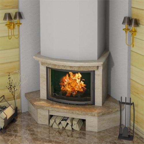 ОРЛЕАН 800 - Мраморная облицовка для углового камина
