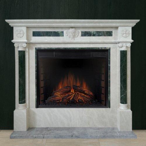 К 367 - Пристенный мраморный портал с изящными колоннами