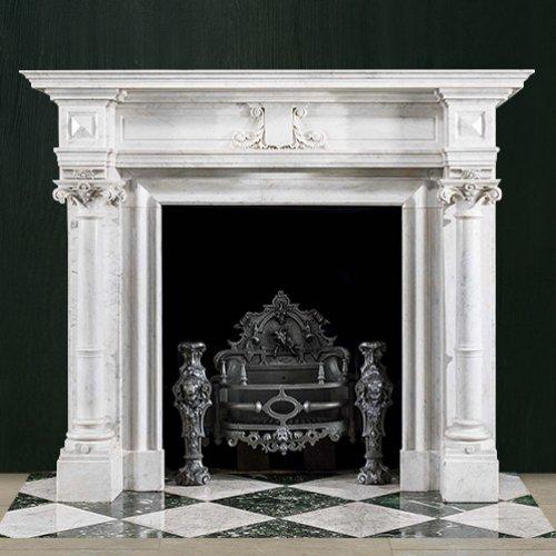 К 365 - Компактный портал в стиле классика из мрамора