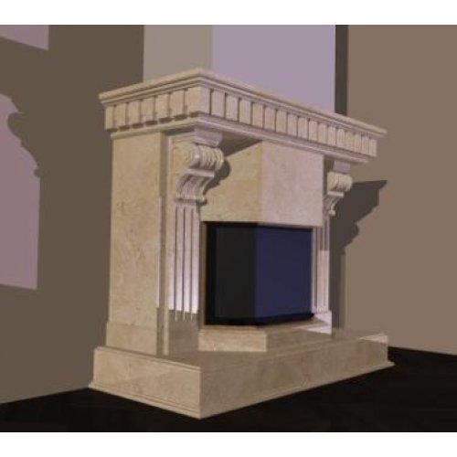 Проект 5 обрамление с элементами декора для фронтального камина
