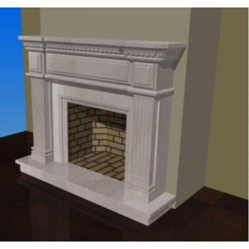 Проект 15 портал с внутренней защитой из шамотного кирпича