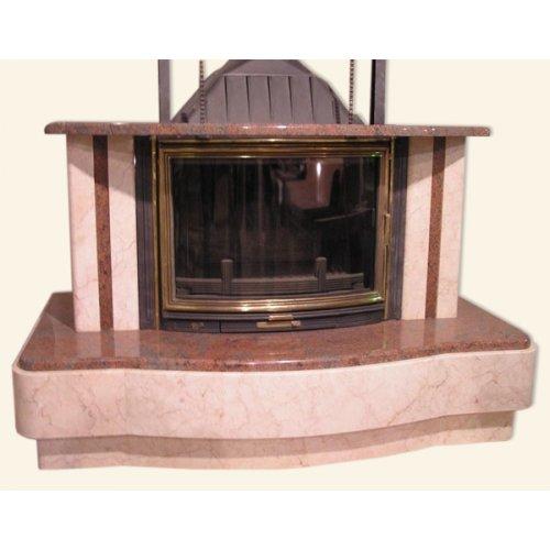 Вальтазар дровяной камин с увеличенным дымосборником