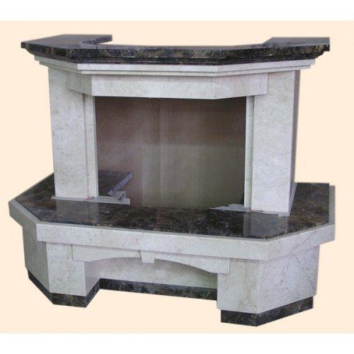 Келано-22 пристенная конструкция для камина