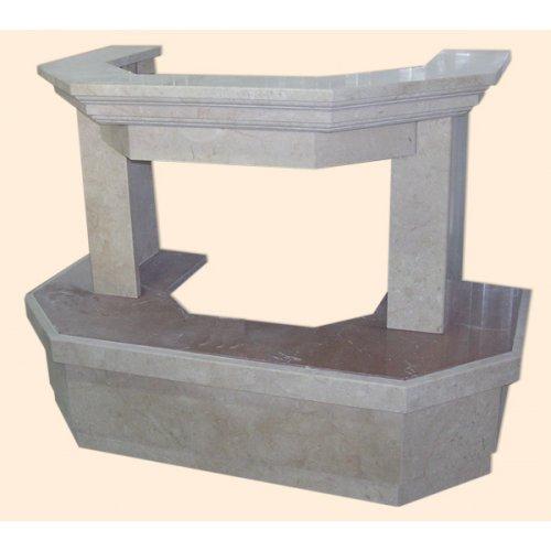 Келано мраморный каминный портал для фронтальной установки