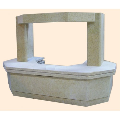 Келано пристенная модель каминой облицовки