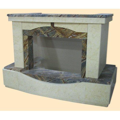 Монако декоративная модель каминного портала