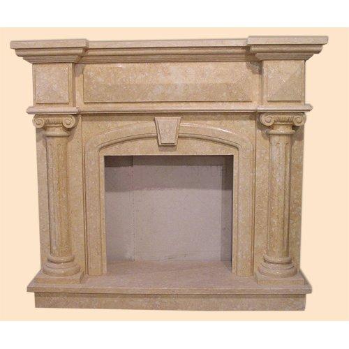 Сочи-2 декоративное мраморное обрамление для камина