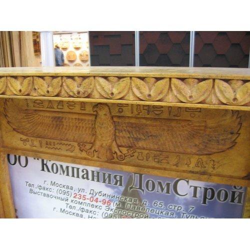 Фрагмент каминной облицовки