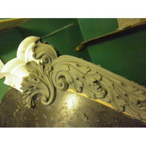 Декоративный элемент для оформления каминного портала