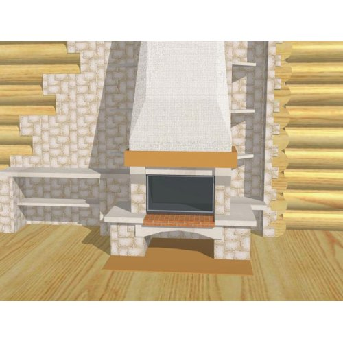 Фронтальный комплект с декоративной балкой