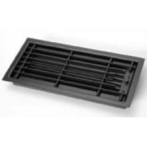 Решетка потолочная, цвет черный