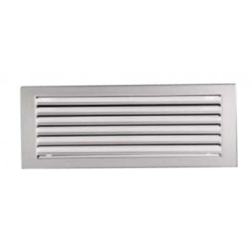 Решетка вентиляционная без жалюзи Standart, цвет белый