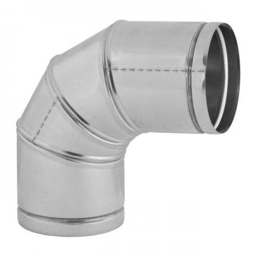 Колено для гофрированных труб