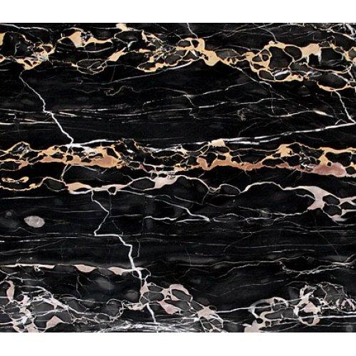 Черный натуральный камень Неро Порторо Экстра