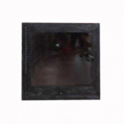 Одностворчатая дверца с огнепрочным стеклом