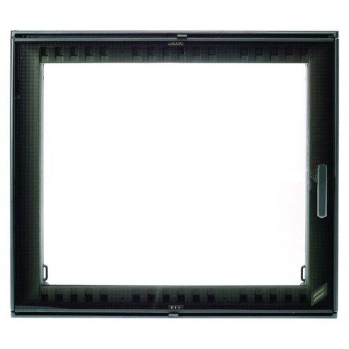 арт. 0057 Каминная дверь с большим стеклом