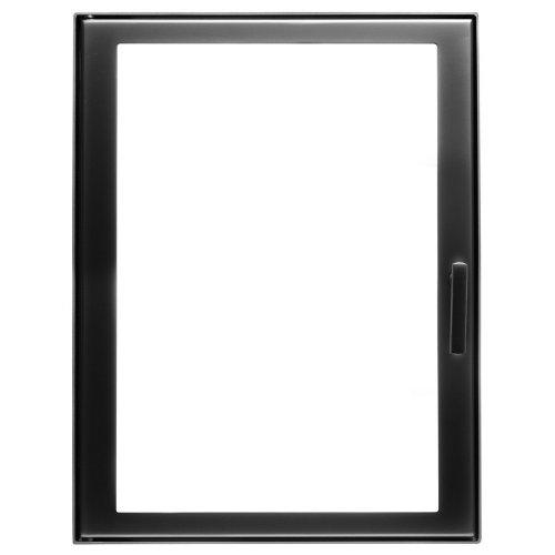 арт. 91584FH Каминная дверь с прямым стеклом
