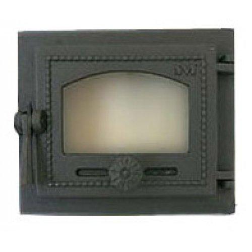 Топочная дверца со стеклом арт.470
