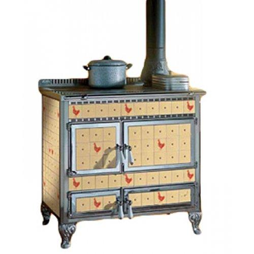 Borgo Antico 90L отопительная печка с варочной поверхностью