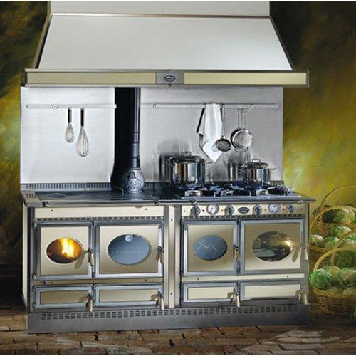 Country 200LGE дровяная печь с газо-электрической плитой