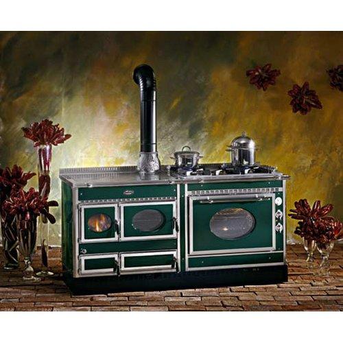 Country 180LGE модель с дровяной и электродуховкой
