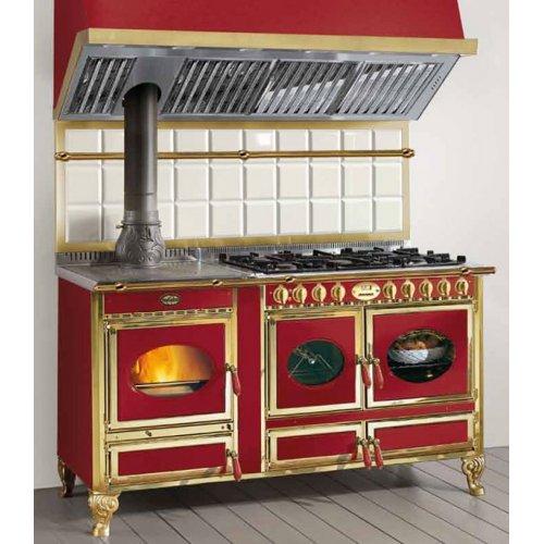 Country 160LGE дровяная печь с электрической духовкой