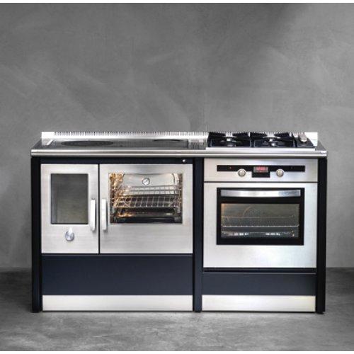 Neos 155LGE Комбинированная кухонная плита с чугунными решетками