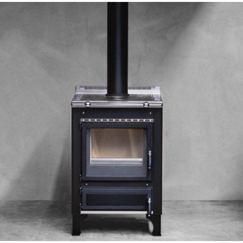 Rustica 60 LGE Компактная печь-плита, работающая на дровах