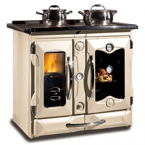 TermoSuprema Compact D.S.A - кремовая печь-плита с водяным контуром