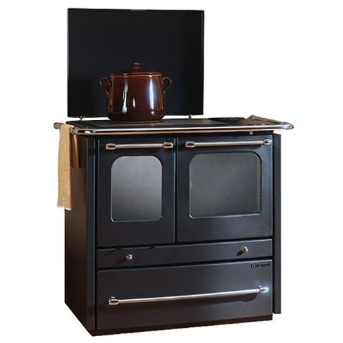 TermoSovrana D.S.A - кухонная плита с выдвижным ящиком для дров