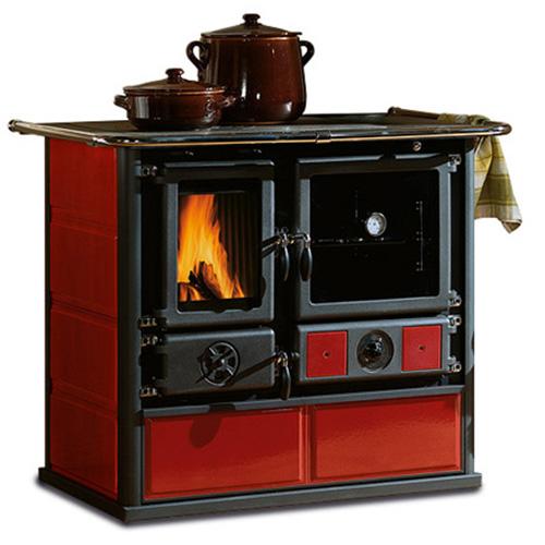 TermoRosa D.S.A - отопительно-варочная печь с объемной духовкой