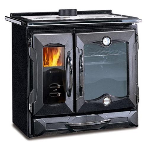 Suprema NE - экономичная печь с выдвижным ящиком для дров