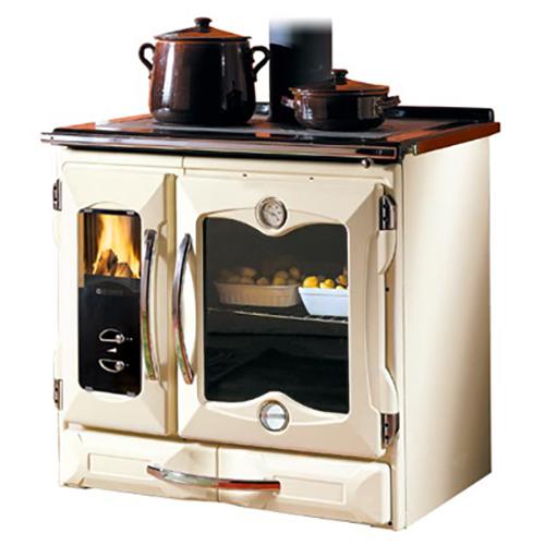 Suprema - отопительная печь с варочной плитой, кремовая