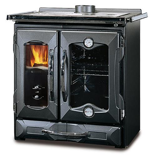 Mamy NE - двухконфорочная кухонная плита для дачи, черная