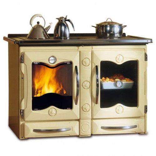 America CMO - чугунная плита для дачной кухни, бежевая