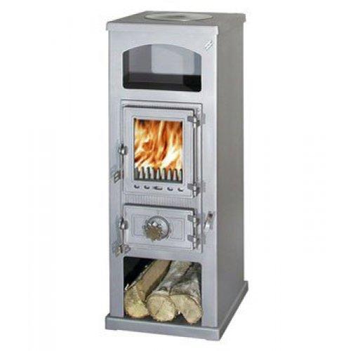 Kota Retro плита с отделением для хранения дров