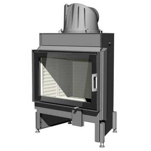 Austroflamm 65х45 К Прямой фасад из огнеупорного стекла
