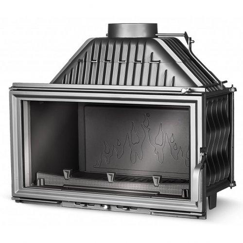 Kaw-Met W15 12 кВт - горизонтальная топка с увеличенным обзором огня