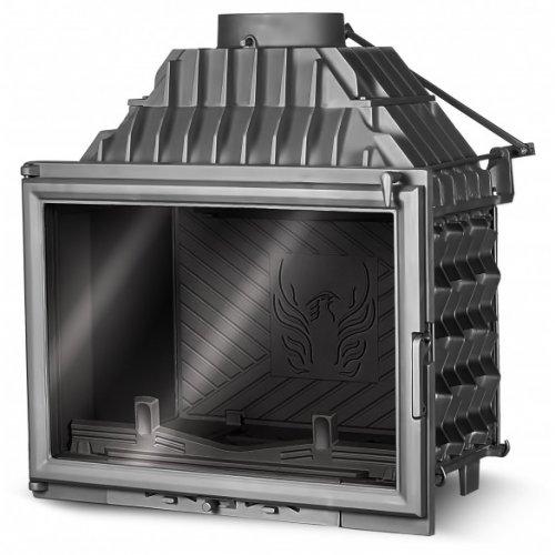 Kaw-Met W11 - компактная топочная камера с прямым стеклянным фасадом