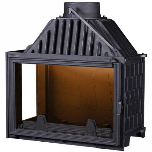 PanTherm 80 Чугунная вставка с дополнительным боковым стеклом