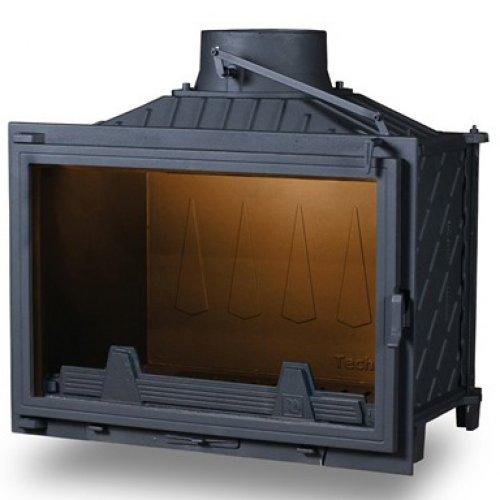 PanTherm Optimum Чугунная вставка с прямой стеклянной дверкой