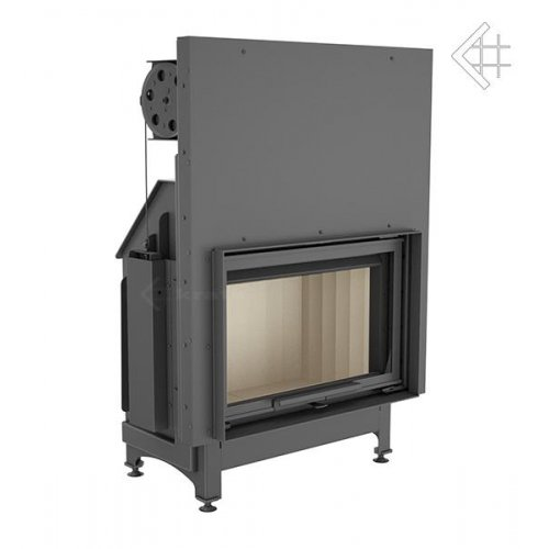 Zibi/G - топочная камера из стали с подъемом двери
