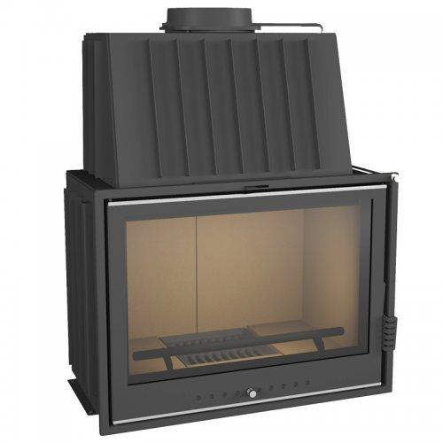 ЭЛЬБА АКВА 700Ш Топочная камера с прямым стеклом, водяной контур