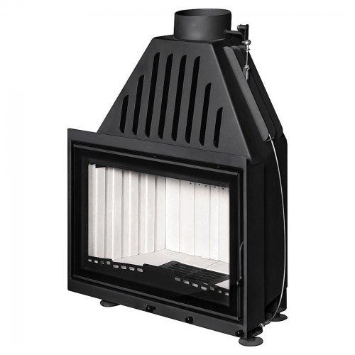 Альфа 800 (арт. ТА800, ТА800B) - Металлическая топочная камера с высоким дымосборником