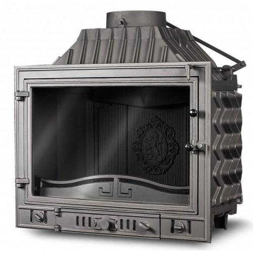 Kaw-Met W4 - каминная камера с прямым стеклянным фасадом
