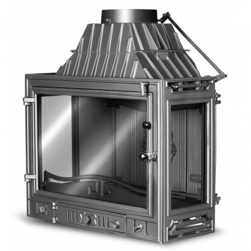 Kaw-Met W3 Dual - трехсторонний отопительный прибор для загородного дома