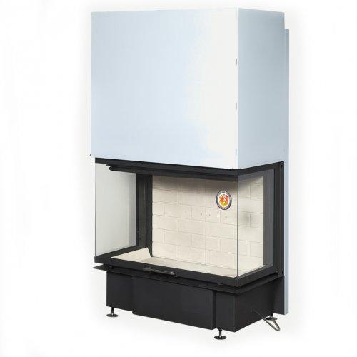 Дельта 800 (арт. ТDN800, ТDN800B) - Топка с подъемной трехсторонней дверцей со стеклом