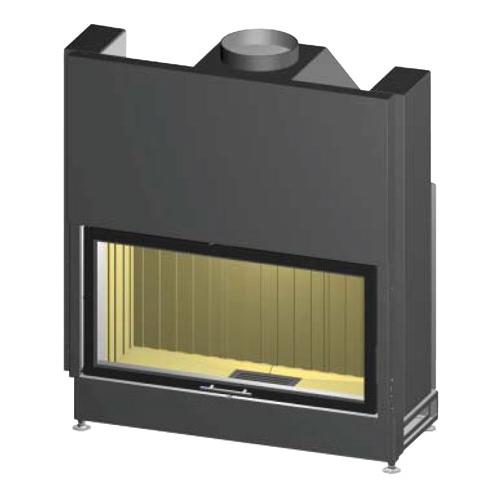 Prestige Varia B150H - Широкая топочная камера из стали