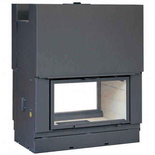 H 1000 double face RT - Топка для центрального камина